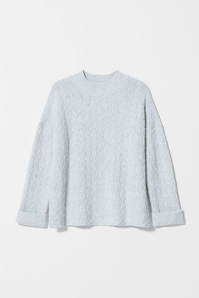 Elk Boden Sweater - White