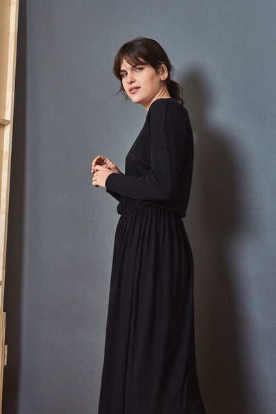 Kowtow Building Block Dancer Dress - Black
