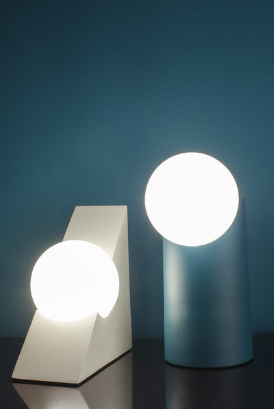 MILLIGRAM FORM LIGHT, CYLINDER, GREEN, SHAPE, LAMP