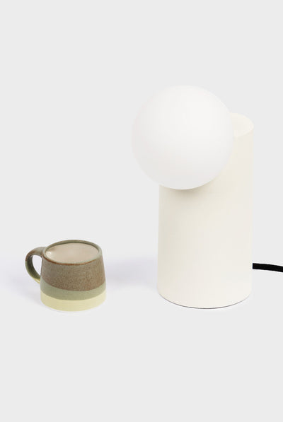 MILLIGRAM FORM LIGHT, CYLINDER, WHITE, SHAPE, LAMP