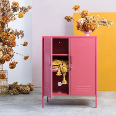 Mustard Made Midi Locker - Blush