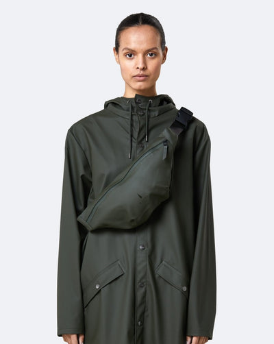 Rains Bum Bag - Green