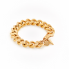 Silk & Steel Revival Bracelet - Gold