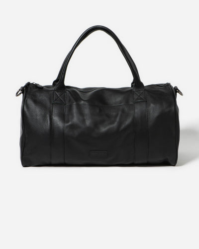 Stitch & Hide Globe Weekender Bag - Black