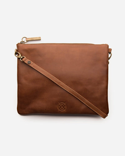 Stitch & Hide Juliette Crossbody Bag - Maple