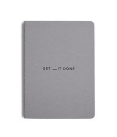 Get __it Done Notebook A6