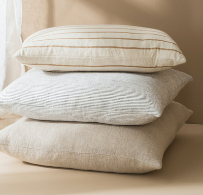 Citta Paloma Cushion - Natural/Masala