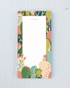Idlewild Market List Notepad - Prickly Pears