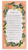 Rifle Paper Co Coral Floral Magnetic Shopping List