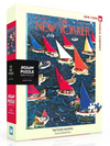 New Yorker Puzzle Tackless Tacking 500 piece, NZ