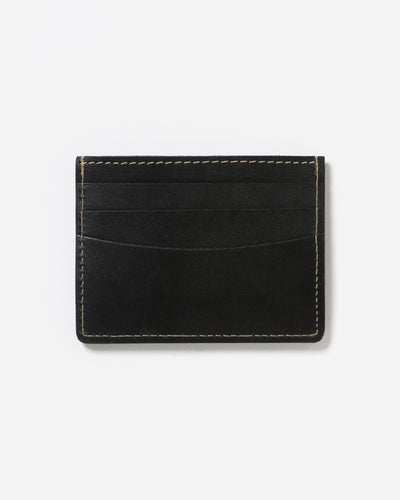 Stitch & Hide Herbert Cardholder - Black