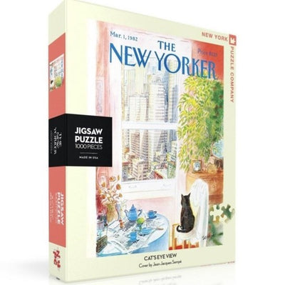 The New Yorker Jigsaw Puzzle 1000pc - Cat's Eye View