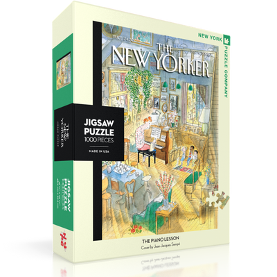 The New Yorker Jigsaw  Puzzle 1000pc - Piano Lesson