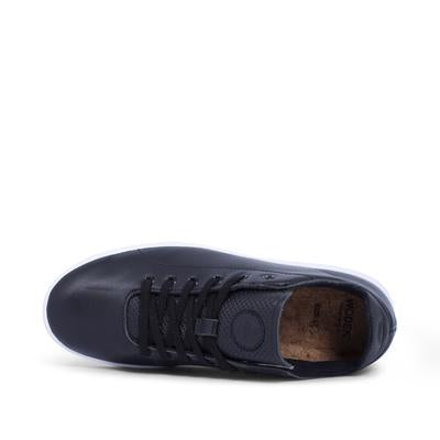 Woden Jane Leather Sneaker - Black