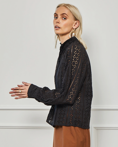 Zoe Kratzmann Bloom Top - Black