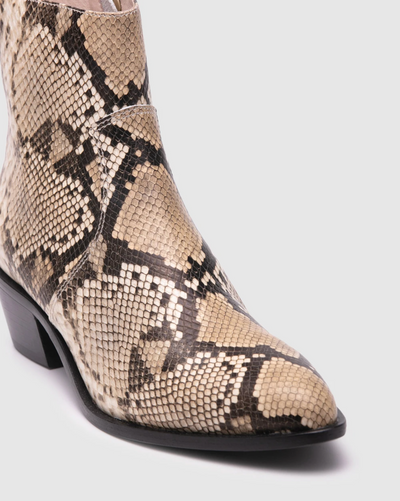 Zoe Kratzmann Sonic Boot - Snake Leather