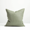 Thread Design Linen Cushion 50cm x 50cm - Sage Green