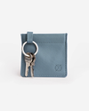 Stitch & Hide Key Pouch - Storm Blue