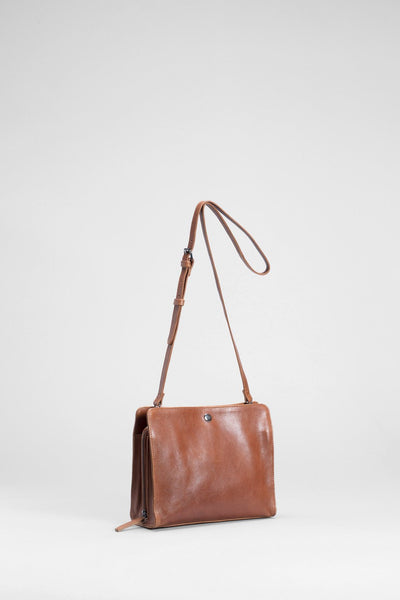 Elk Edda Small Bag - Tan