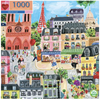Eeboo Puzzle - Paris In A Day
