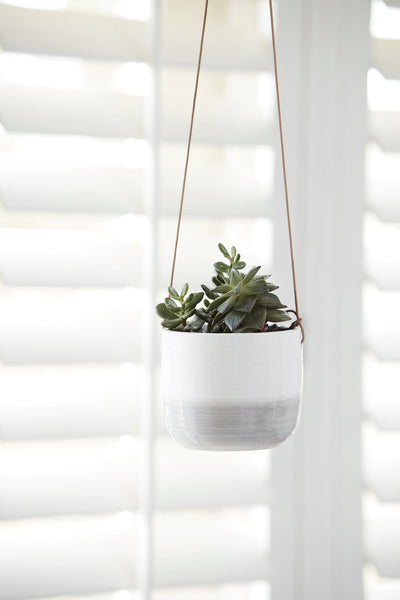 Burgon & Ball Hanging Pot - Ripple