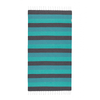 Hammamas Towel - Charcoal Emerald Spearmint, Turkish Cotton