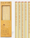 Sharp & Blunt Pick Up Lines Pencil Set