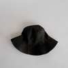 SOPHIE Linen Bucket Hat - Black