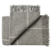Weave Ranfurly Throw - Charcoal