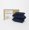 Camden Co Wheat Bag - Navy Velvet