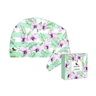 Dock & Bay Botanical Hair Wrap - Orchid Utopia