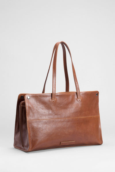 Elk Edda Large Bag - Tan