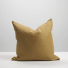 Thread Design Linen Cushion 50cm x 50cm - Cinnamon