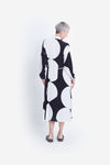 Elk Kalla Shirt Dress - Black / White