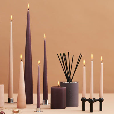 Ester & Erik Danish Cone Candles - No.41 / Pink