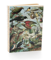 100% NZ Vintage Birds Notebook