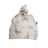 Burrow & Be Baby Top Knot Hat - Blush Meadow