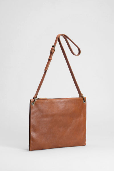 Elk Kolind Large Bag - Tan, leather