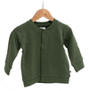 Burrow & Be Fleece Cardigan - Pine