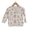 Burrow & Be Fleece Cardigan - Blush Meadow