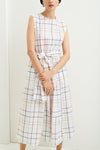 Kowtow Echo Dress - Holiday Check