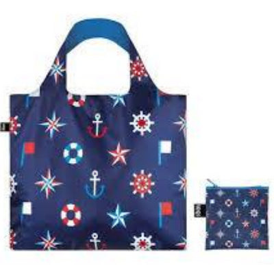 Loqi Shopping Bag - Nautical