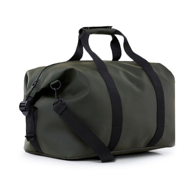 RAINS WEEKEND DUFFEL BAG, GREEN, KHAKI