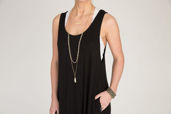 Adult Momper Romper in black.