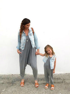 momper-romper - Mom + Mini Set - Gray ($9 SAVINGS) - Set