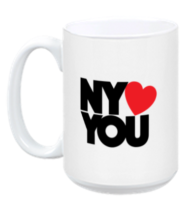 New York Hearts You Coffee Mug