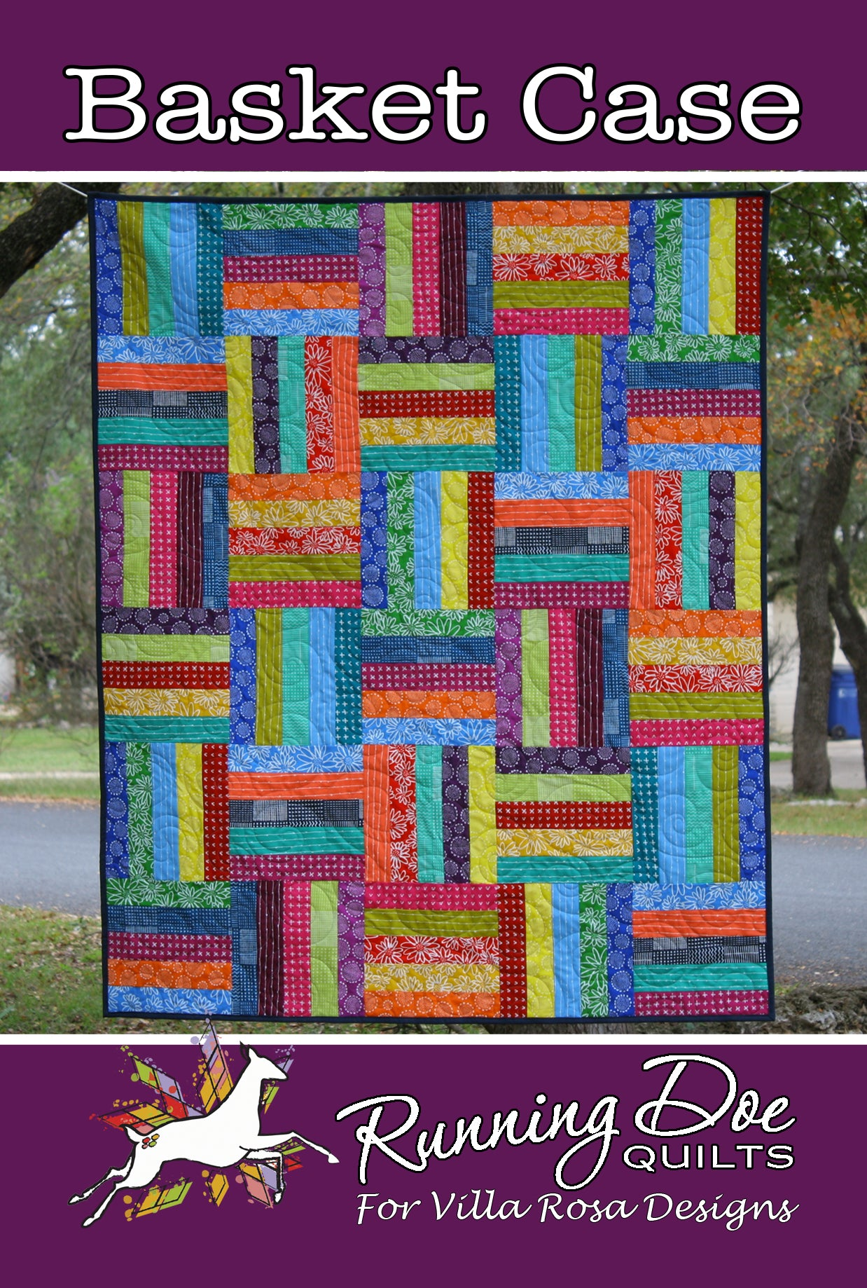"BASKET CASE pattern - 50""x60"""