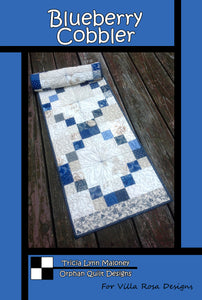 "BLUEBERRY COBBLER pattern - 16""x52"""