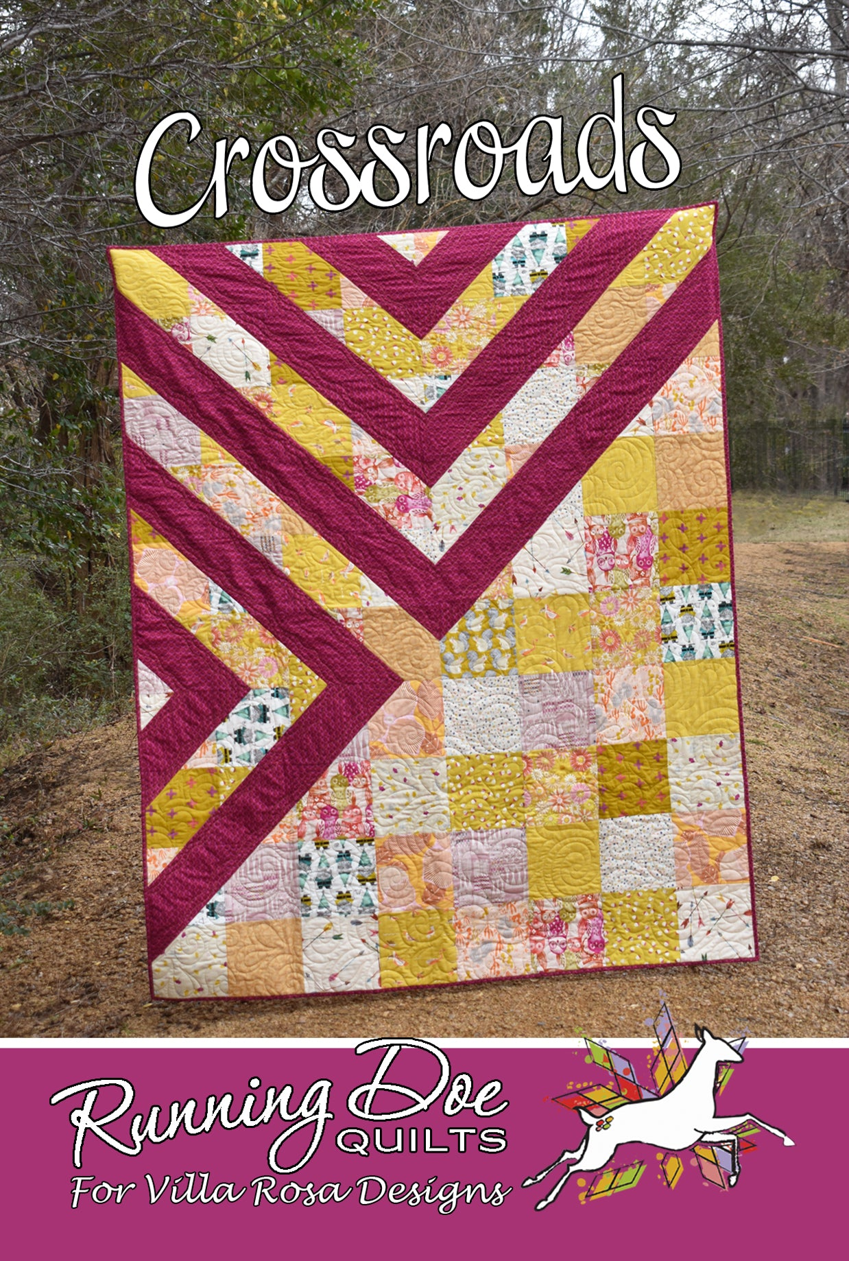 "CROSSROADS pattern - 60""x75"""