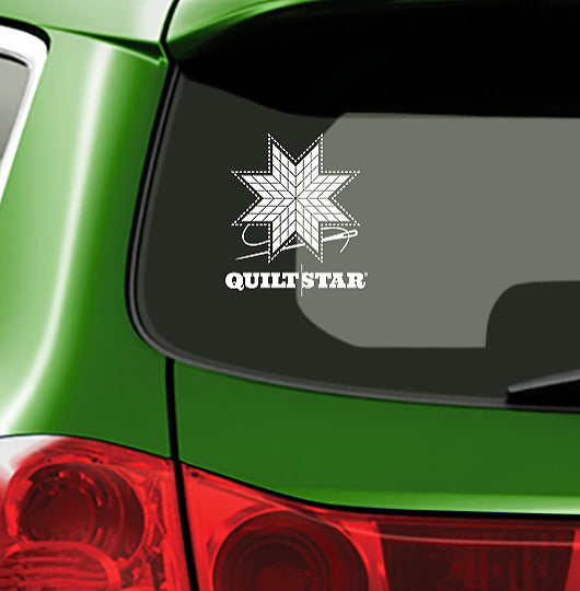QUILT STAR - Vinyl Decal for Car or Home
